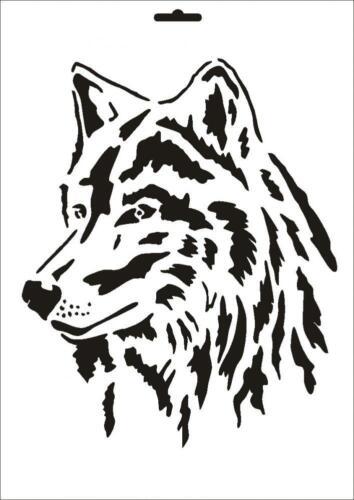 Stencil W-090 Wolf ~ UMR Wall Stencil