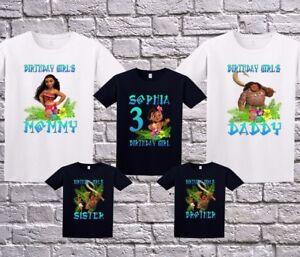 f65f3e4a Image is loading Moana-Family-Custom-Birthday-Shirt-Personalized-T-Shirt-