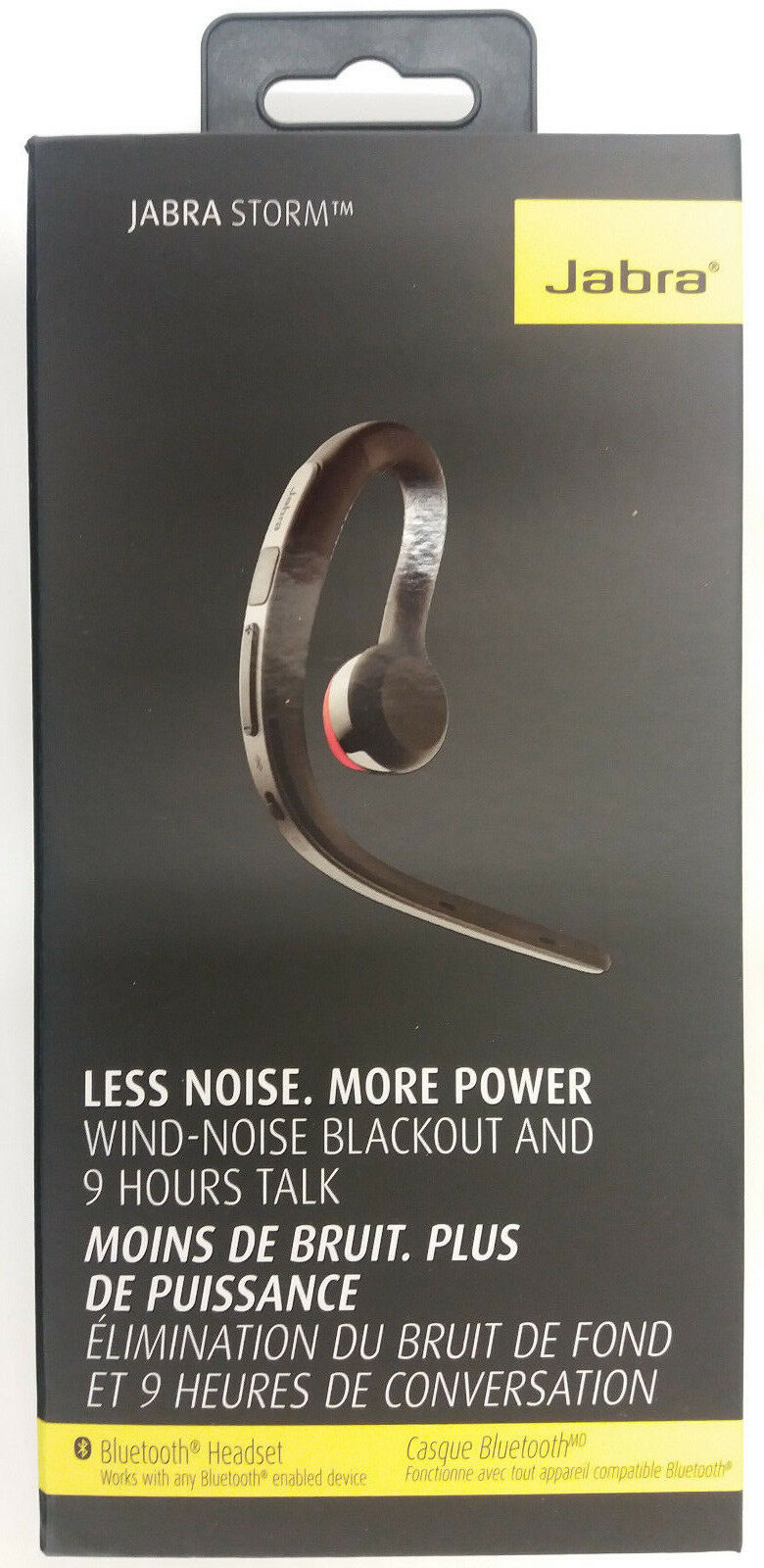 Jabra Storm In Ear Noise Cancelling Bluetooth Headset For Sale Online Ebay