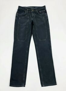 Jeckerson-jeans-uomo-usato-W32-tg-46-grigio-denim-gamba-dritta-boyfriend-T6204