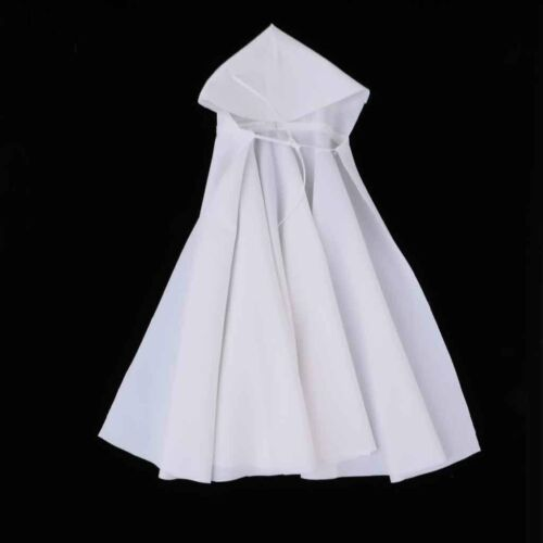 1:6 Scale Gothic Style Long Cloak for Dragon 12/'/' Figure Toy Clothes White