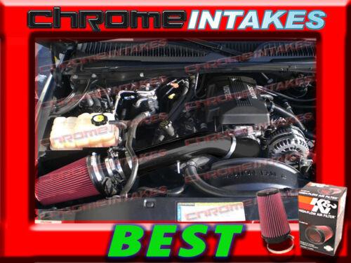 K/&N+BLACK RED 99-07 CHEVY//GMC//CADILLAC TRUCKS//SUVS COLD AIR INTAKE KIT