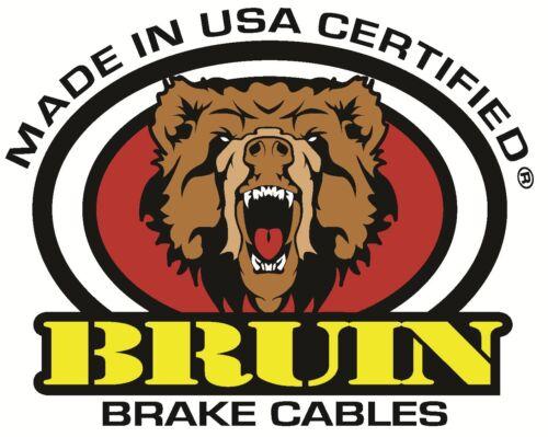 Bruin Brake Cable 97036 Rear Left Chevy GMC fits 09-11 Silverado 1500