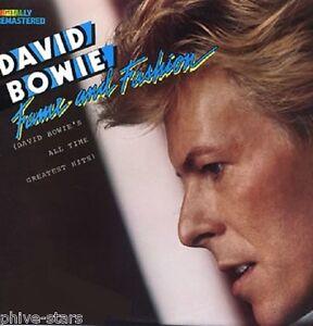 "David Bowie Import 12"" 33rpm Vinyl Record LP Fame & Fashion Rock Art Pop Hits."