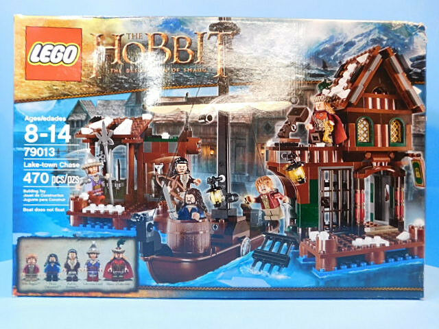 Lego The Hobbit 79013  Lake-Town Chase  New 470 Pieces  Box Damage