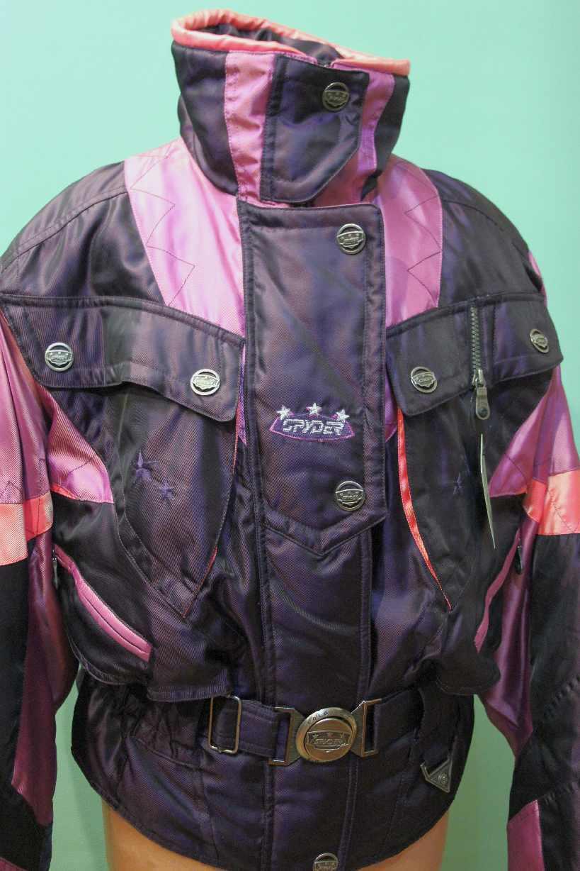 Orig Spyder Spyder Spyder Ski Jacke Gr 40 M Damen USA Winter alpin lilat Rosa 2115c5