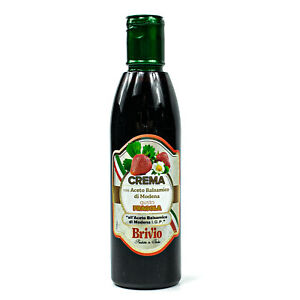 Aceto-Balsamico-with-di-Modena-IGP-Balsam-Vinegar-Crema-034-Fragola-034-250ml-Strawberry
