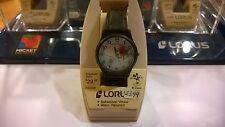 NIB Lorus/Seiko Vintage Flying Plane Dial Mickey Mouse Watch - Rare Aviator New
