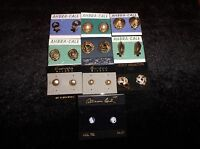 Lot Of 10 Sets Ladies Women's Fashion Costume Jewelry Earrings Clothing Clothes