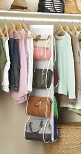 Attractive Image Is Loading Bag Holder Rack Organizer Purse Storage Door Closet