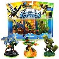 Skylanders Spyro Adventure Pack Drobot Flameslinger Stump Smash Skylander