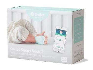 Owlet Smart Sock 2 Baby Heart Rate & Oxygen Level Monitor