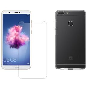 cover huawei p smart custodia pellicola