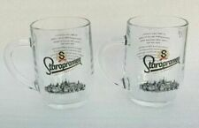 home or for pub Dimpled Beer Tankard Britannia Half Pint Glass set of 4