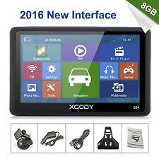 "XGODY 5"" TRUCK&CAR GPS SAT NAV NAVIGATION SYSTEM NAVIGATOR 8GB SPEEDCAM FREE MAP"
