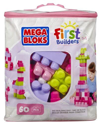 MEGA BLOKS FIRST BUILDERS 60PCS NEW