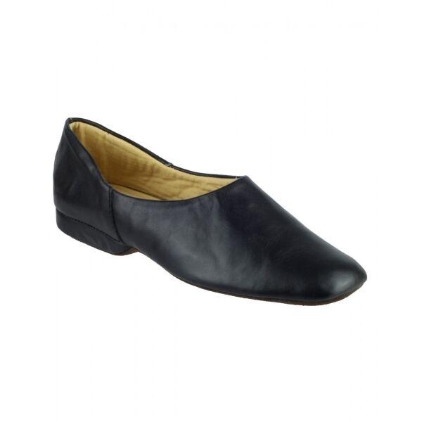 Cincasa Menorca PEDRO Mens Slip On Soft Leather Comfort Full Slippers Black