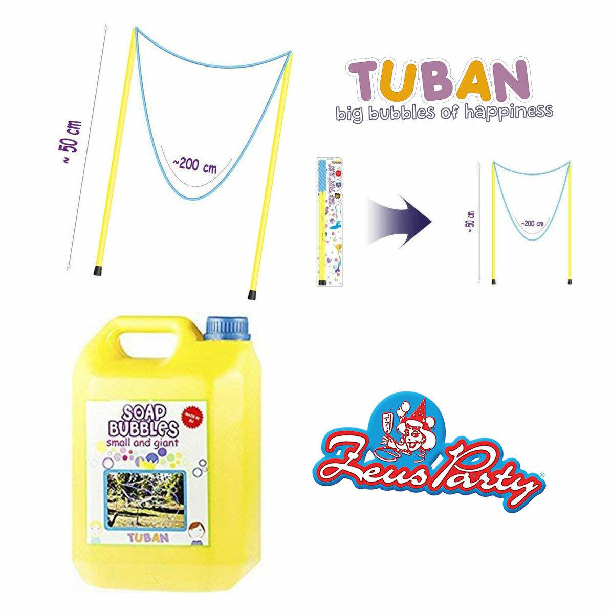 Tuban Kit Bacchette da 50 cm per bolle di sapone giganti