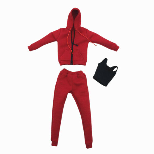 Veste à Capuche avec Pantalon et Gilet 1//6 Vêtement Accessoires pour Jouet