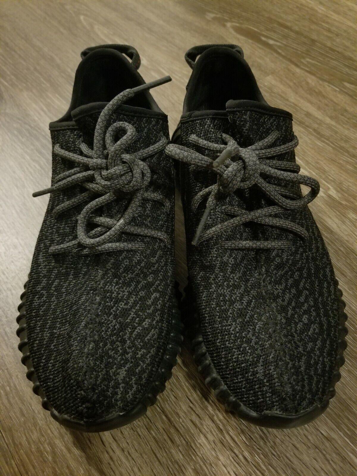adidas yeezy boost 350 2015 pirate black | size 7 | 100