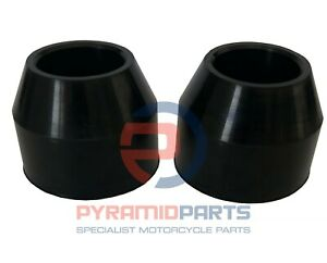 Fork Dust boots Pair for Yamaha DT125 1974-1975 2482314400