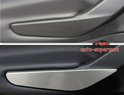 S.Steel Interior Rear door handle Cover trim For Ford ESCAPE KUGA 2013 2014