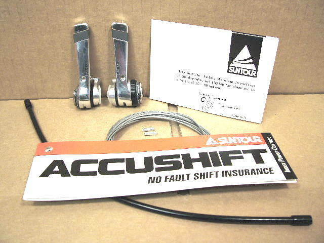 New-Old-Stock Suntour Sprint 9000 Levers...6/7-Speed Indexing Capable