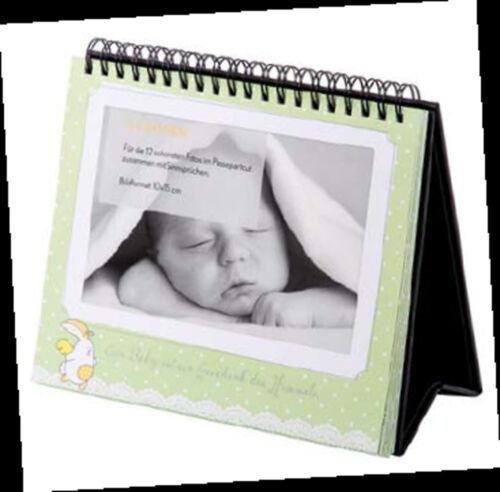 Baby Bilderrahmen Album Aufsteller 12 Bilder Passepartout Foto Tischaufsteller