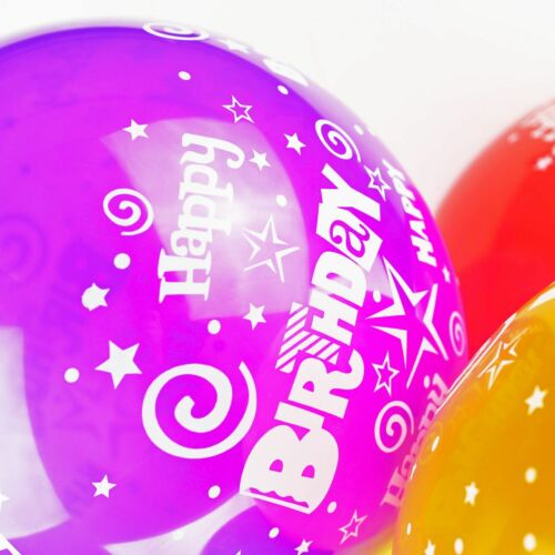 "Pack of 10 12/"" Latex Kids Birthday Balloons Quality Wedding Party"