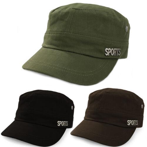 Sport Military Hat Cap Army Cadet Men Women Casual BASEBALL Size Adjustable