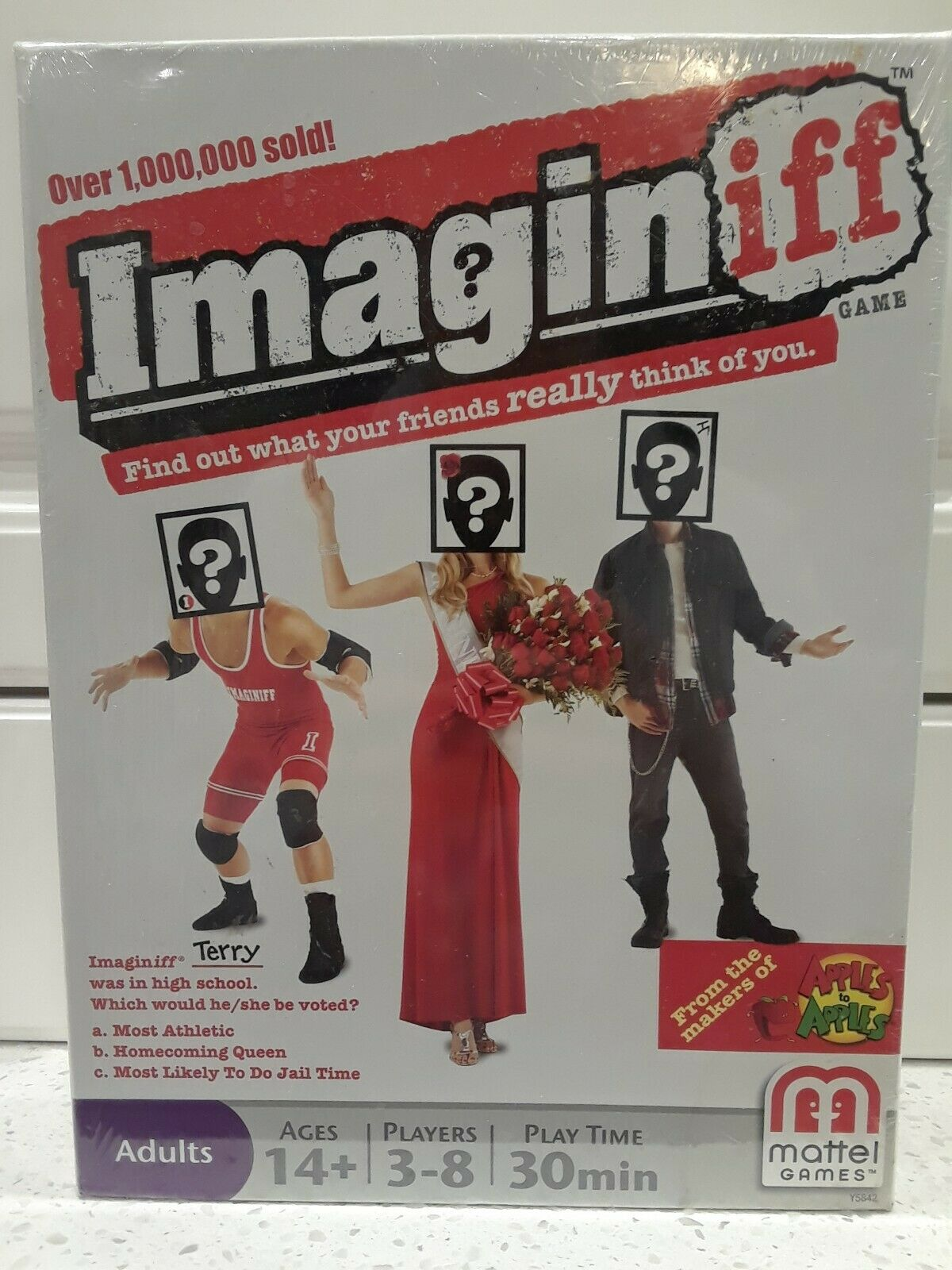 Imaginiff Board Game Ages 14+ Game Night from Makers of Apples to Apples
