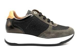 Alviero-Martini-1a-Classe-0428-0218-Grigio-Sneakers-Scarpe-Donna-Comode