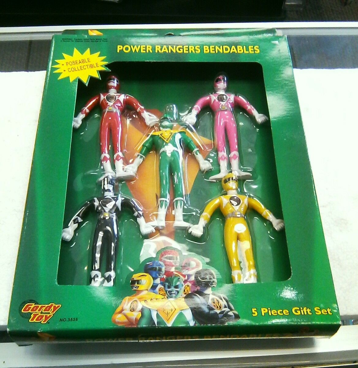 1993 5 Power Rangers Bendable 5 1993 piece gift set 44ec59
