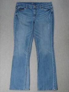 SE03455-MOSSIMO-CURVY-FIT-BOOT-CUT-WOMENS-JEANS-sz12R