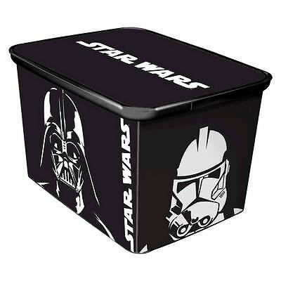 New Large Star Wars™ Plastic Storage Bin for Toys, Action Figures, Bricks & More