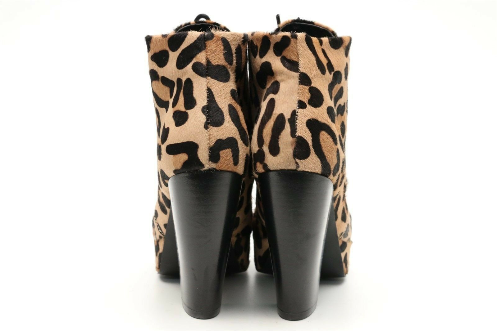 Womens STEVE MADDEN leopard print pony hair ankle ankle ankle booties sz. 6.5 NEW   160 e36356