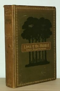 Ernest-Thompson-Seton-Lives-of-the-Hunted-1901-1st-1st-Early-Boy-Scout-NR