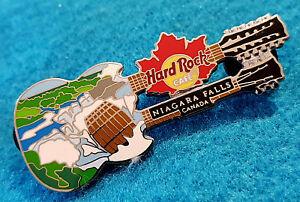 Niagara-Cascadas-Lata-Barril-Guitarra-Canadiense-Hoja-de-Arce-Hard-Rock-Cafe-Pin