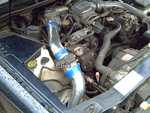 blue cold air intake kit filter for 90 95 ford thunderbird. Black Bedroom Furniture Sets. Home Design Ideas