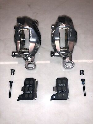 Sram Red HRD Post Mount Hydraulic Brake Caliper Set Front And Rear With Pads 2