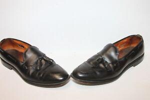 4854cdeb6c6 Image is loading Allen-Edmonds-8217-Grayson-Black-Leather-Tassel-Loafers-
