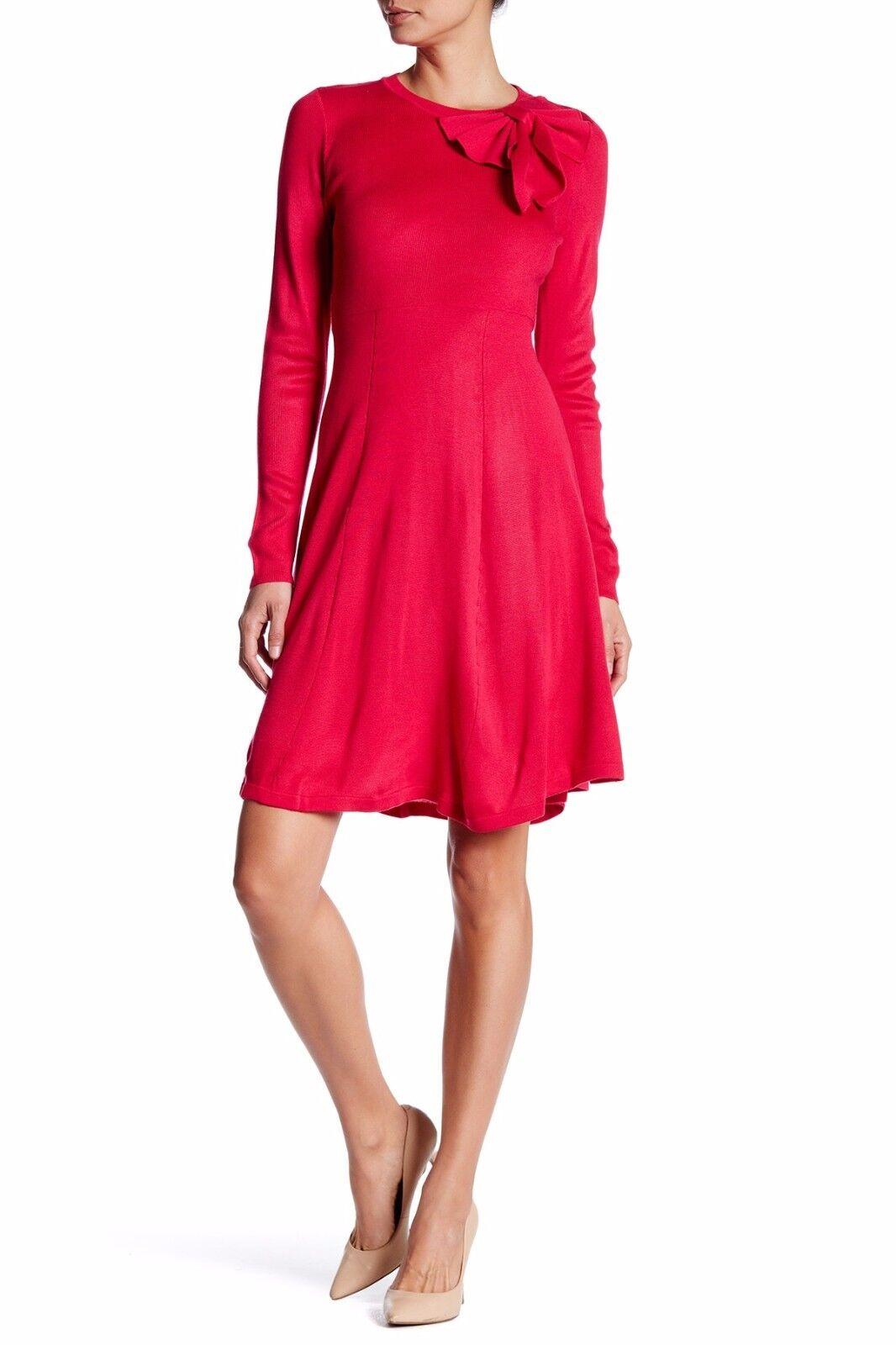 Eliza J Empire Bow Bow Bow Waist Dress  ( Size XL ) 7aae1c