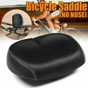 Comfortable Bike Seat Large Wide Soft No Pressure Bicycle Ergonomic Seat