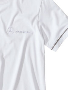 Mercedes-Benz T-Shirt für Herren in weiß - Größe M