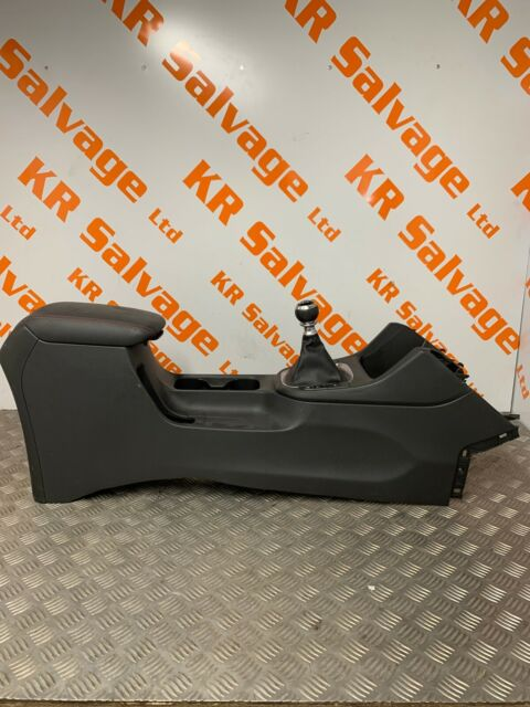 2012-2019 FREE POSTAGE RENAULT CLIO MK4 IV BLACK ARMREST RIGHT HAND DRIVE