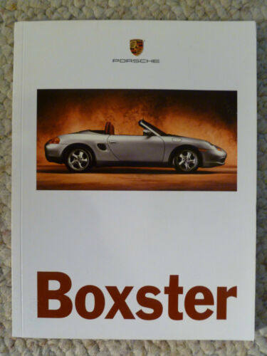 1996 Porsche Boxster INITIAL Showroom Advertising Brochure RARE! Awesome L@@K
