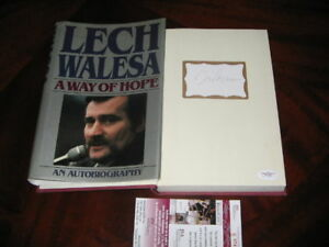 LECH-WALESA-POLAND-A-WAY-OF-HOPE-POLISH-LEADER-JSACOA-SIGNED-FIRST-EDITION-BOOK