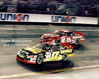 MATT KENSETH vs DALE EARNHARDT JR NO BULL 5 2000 8X10 PHOTO NASCAR WINSTON CUP