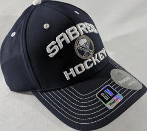4bc4119c369 LZ Reebok Adult Fitted S M Buffalo Sabres Hockey NHL Baseball Hat ...