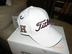 ced83de8 1 BRAND NEW TITLEIST TOUR PERFORMANCE GOLF HAT (HARVARD CRIMSON ...